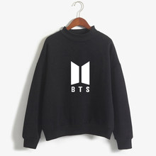 ZZSYKD Women Bangtan Boys BTS Kpop Sweatshirts Korean Tracksuit Hoodies LOVE YOURSELF Album Harajuku Ladies Clothes Hip Hop Tops(China)