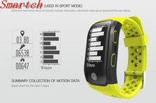 Smartch сердечного ритма Смарт браслеты GPS послужной Smart Band 2 сна Шагомер Браслет фитнес трекер Смарт часы Relogio