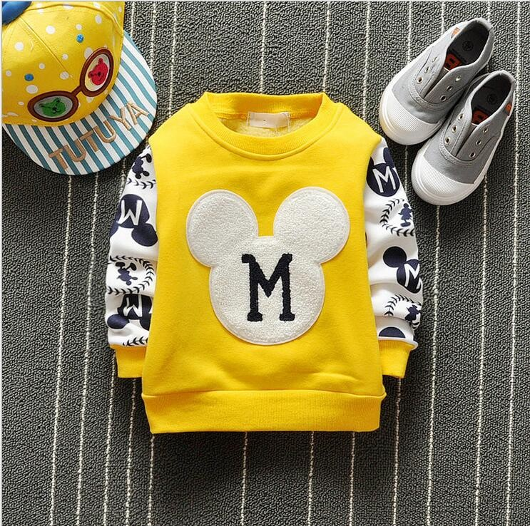 The new cartoon pattern fashion 0-2 year-old male and female baby long-sleeved clothes + free gifts 4
