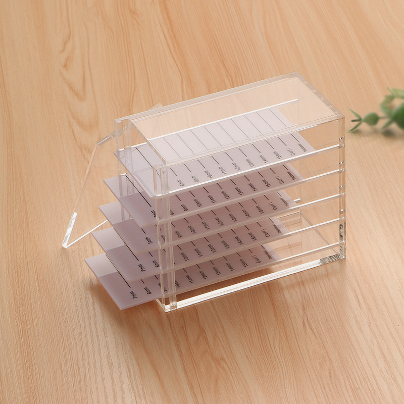 Image 4 - Eyelash extension tools  save eyelash Eyelash extension storage boxEye Shadow Applicator   -