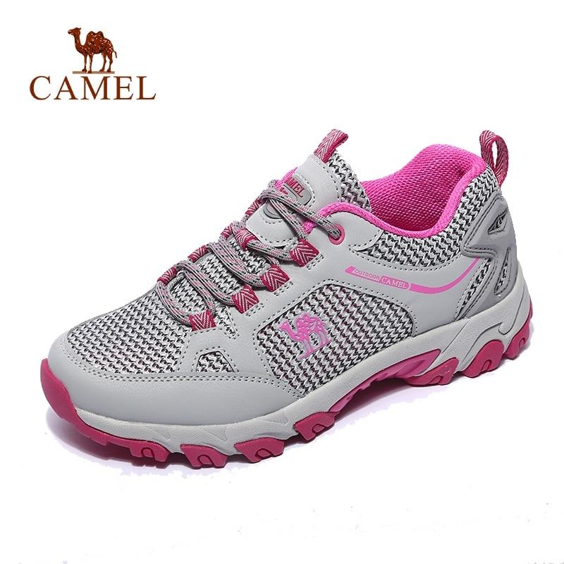 CHAMEAU Femmes En Plein Air chaussures de randonnée Durable Respirant Maille Non-slip Anti-impact Voyage Randonnée Trekking chaussures de trail