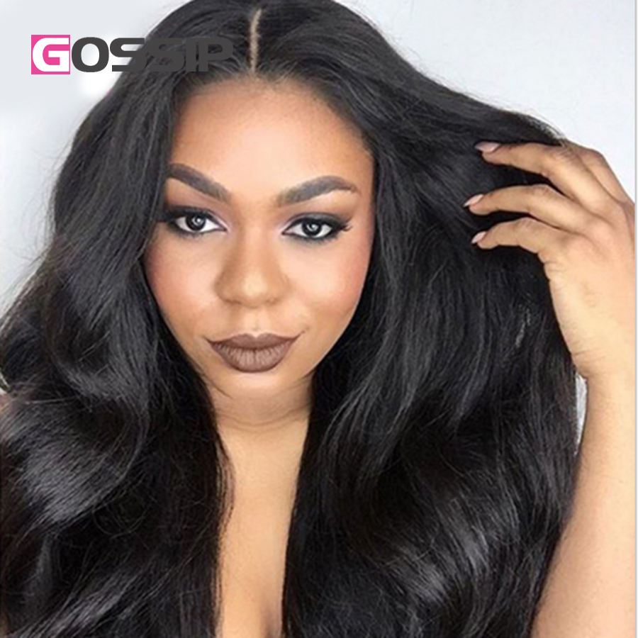 Indian Body Wave Hair Wigs Full Lace Human Hair Wigs For Black Women Lace Front Human