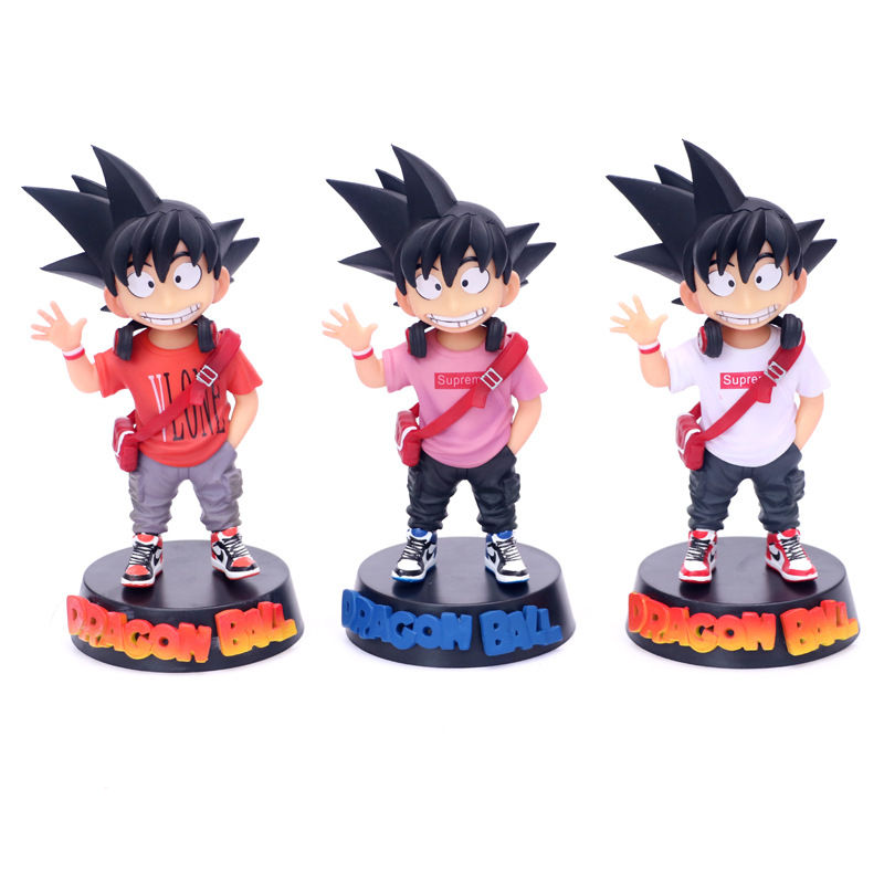 Dragon Ball Z Kakarotto Kid Son Goku Childhood Gokou Anime Dragon Ball GK Action Figure Toys Doll Christmas Gift