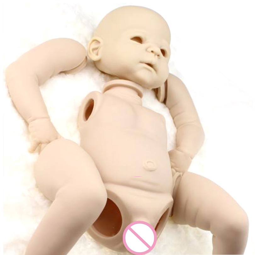 NPKCOLLECTION DIY Reborn doll mold silicone high-grade imported silicone raw materils reborn doll kits handmade doll accessory high tech and fashion electric product shell plastic mold