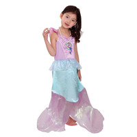 Child Mermaid Costume Little Girl Fairy Party Princess Fun And Fantasy Fancy Dress Outfit Halloween Dresses