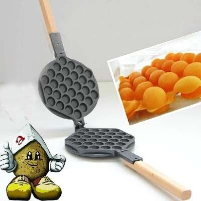 hong kong yumurta waffle tavası Eggettes Yumurta Waffle makinesi Tavası