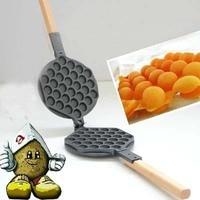 hong kong egg waffle pan_ Eggettes Egg Waffle maker Pan
