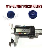 HD 1080P M12 3 7MM 2 0MP Pinhole Mini Lens For Cctv Video Surveillance CCD CMOS