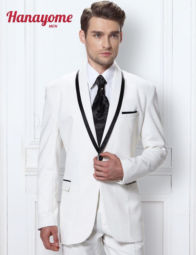 Korean Men Floral Suits White Suits For Men Mens White ...