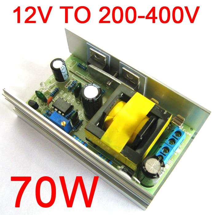 DC-DC 12V 24V to DC 200-450V 220V 380V High Voltage Boost Converter Step Up Power Supply module Adjustable output voltageDC-DC 12V 24V to DC 200-450V 220V 380V High Voltage Boost Converter Step Up Power Supply module Adjustable output voltage