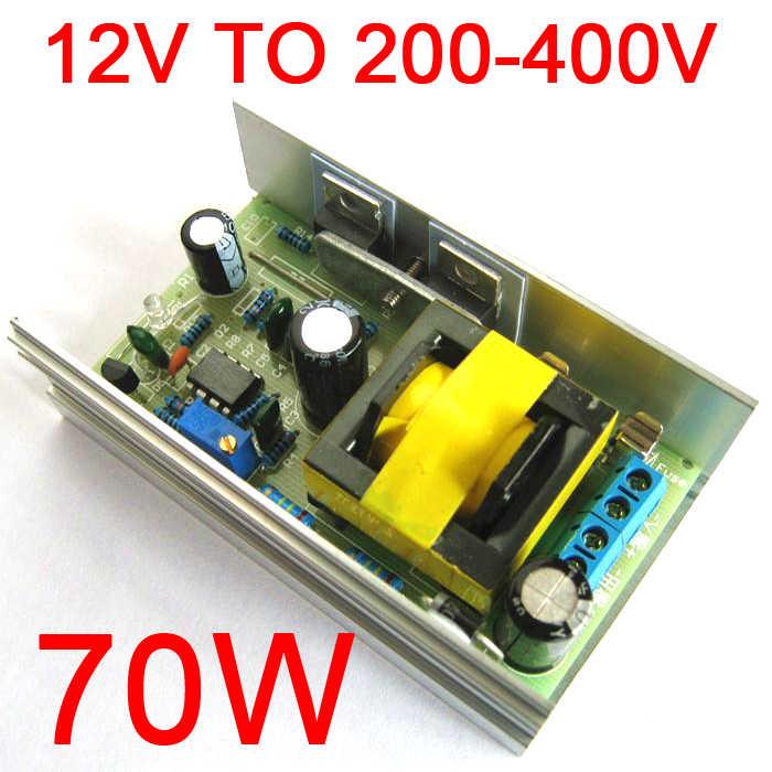 dc dc 12v 24v to dc 200 450v 220v 380v high voltage boost converter step up power supply module adjustable output voltage  onstate 253 1200w 20a dc boost (step