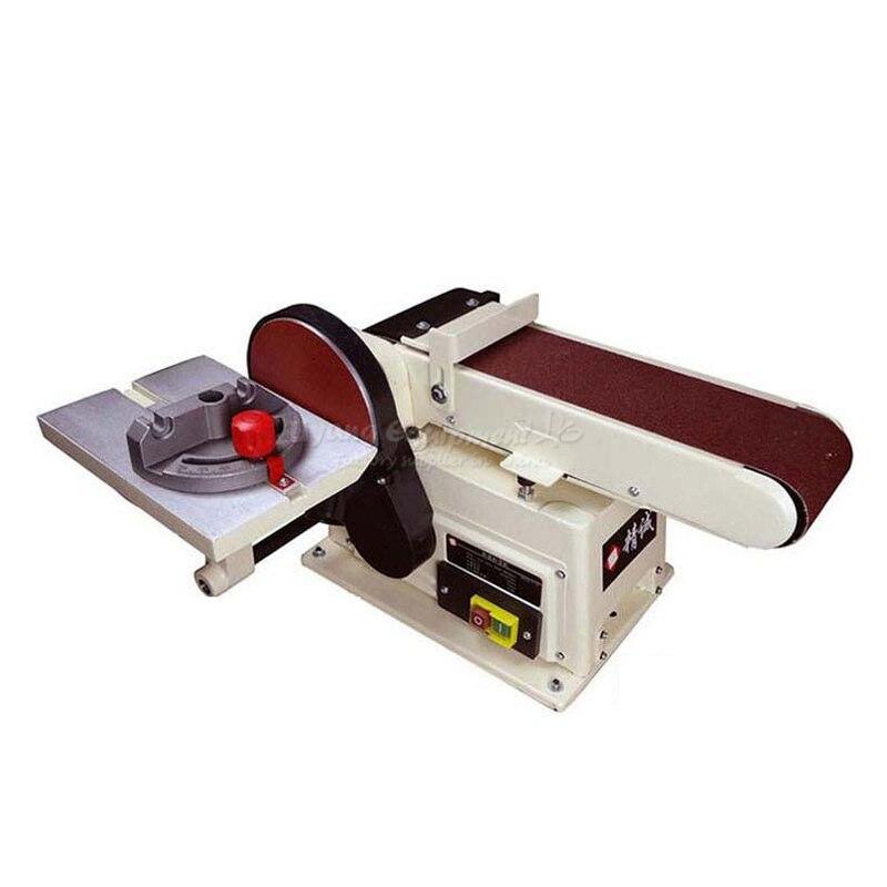 Di tipo verticale abrasivo cintura di sabbia macchina di lucidatura rettifica Cintura smerigliatrici piccolo banco 915 Q10029
