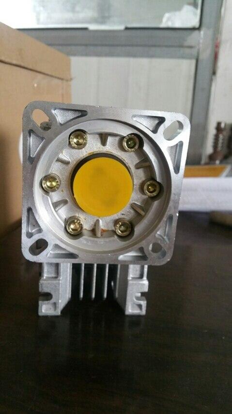 7,5: 1-80: 1 червь редуктор NMRV040 14 мм Вход вал rv040 червячный редуктор Скорость редуктор для Nema 34 двигателя