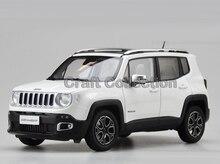 * Blanc 1/18 Jeep Renegade 2016 Cherokee Ville SUV Alliage Jouet De Voiture