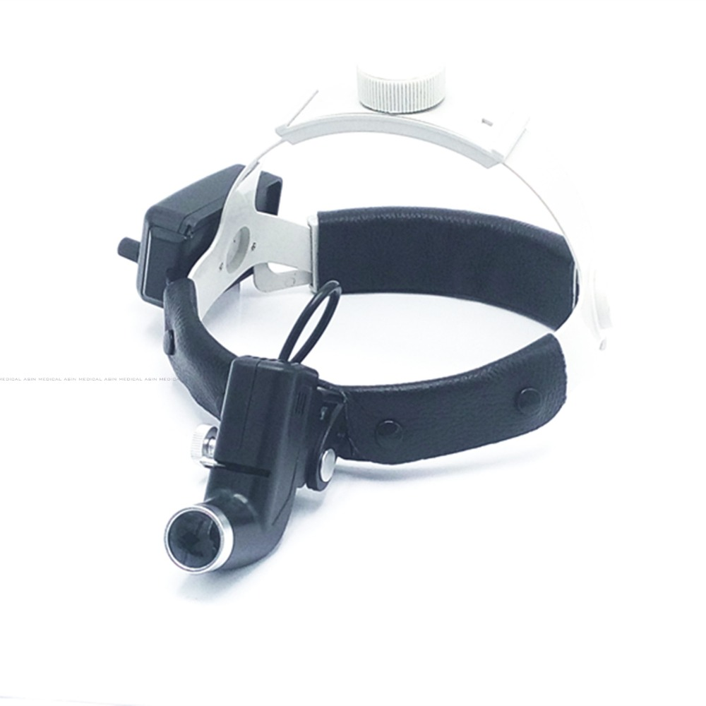 Headband Medical LED headlights adjustable size big power and high intensity ENT specific product surgical light