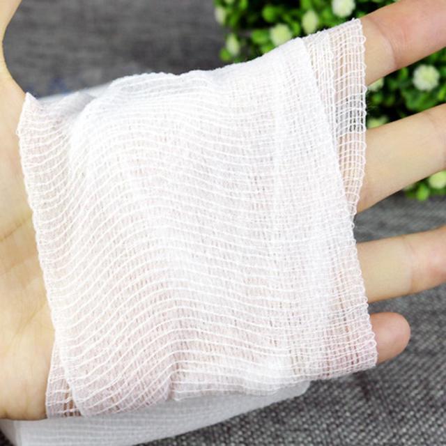 Blanc 5 cm/7.5 cm/10 cm 15 cm compression adhésive médicale premiers secours bandage Supplie rouleau élastique bandage extensible propre Non tissé