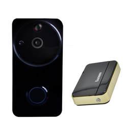 Встроенный Батарея долгое время ожидания WI-FI Беспроводной домофон видео Звонок