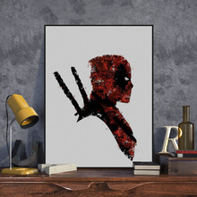 Deadpool Wall Picture Painting #1