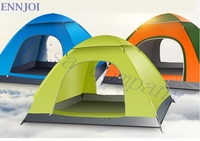 Outdoor Recreation Tent Tourist 3 4 Person Single Layer Camping Travel Tents One Bedroom Camping Family Tent