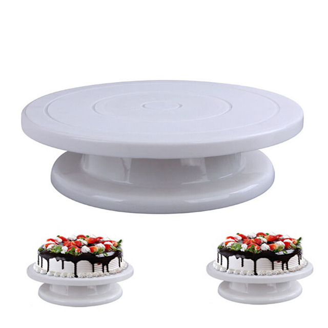 Cake Decorating Tools Rotating Cake Stand Sugarcraft Turntable Decorating Stand Platform Cupcake Stand Cake Plate Tools  sc 1 st  AliExpress.com : rotating cake plate - Pezcame.Com