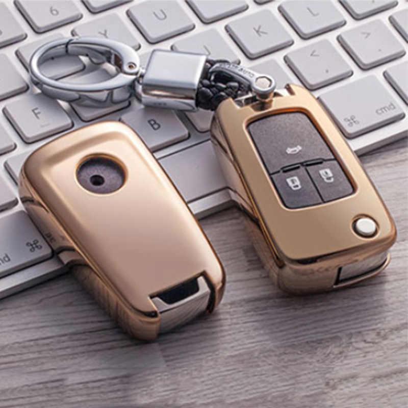 2019 Мягкий ТПУ ключ чехол для Chevrolet Buick для Cruze Aveo Trax Opel Astra Corsa Meriva Zafira Antara J ключ защиты