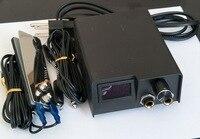 1セットプロミニ黒タトゥーマシン電源で鋼ミニタトゥーフットペダルタトゥークリップコードとあなたの国プラ