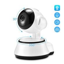 Hamrolte Mini caméra de surveillance IP Wifi hd 1080P (V380), babyphone avec Audio bidirectionnel, vision nocturne et détection de mouvement et accès à distance