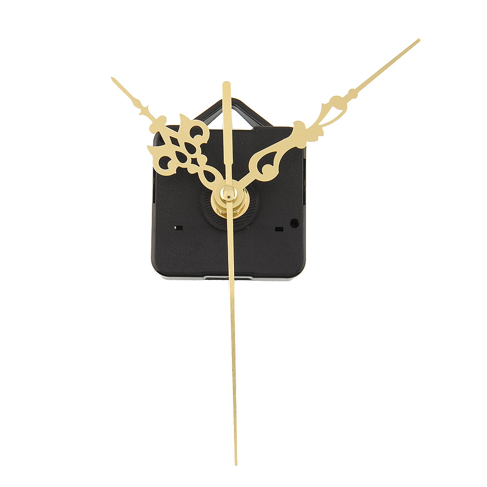 Luxury Charming Quartz Clock Movements Mechanism Parts Repair Making DIY Watch Tools With Gold Hands Silence