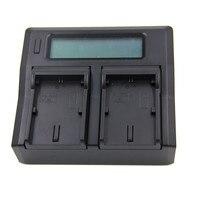 AC/DC LCD Dual Battery Charger EN EL14 For Nikon D3200 D3300 D5100 D5200 D5300