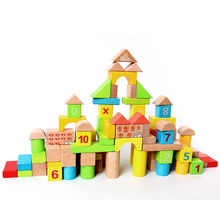 100pcs/set Math Calculations Wooden Block Children Early Education Toy