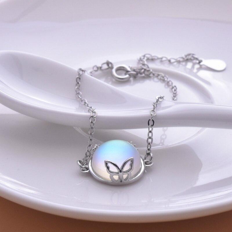 bracelet pierre de lune en argent 925