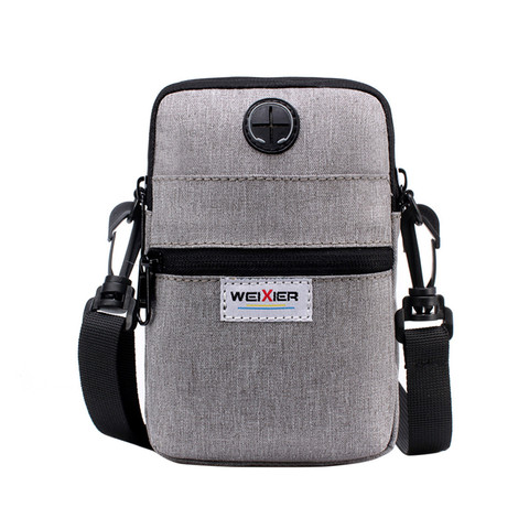 Fashion 2019 Casual Summer Men Diagonal Mini Shoulder Multi-Function Mobile Phone Bag Outdoor Sports Messenger Shoulder Tote Bag Multan