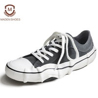 Madden 2018 Spring Wear Resistant Men Sneakers Cow Suede Vulcanized Casual Shoes Unique Askew Height Increasing