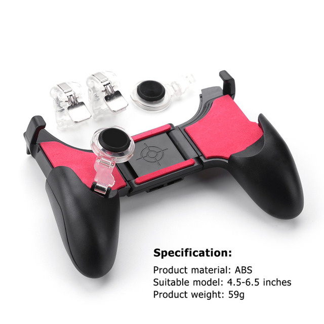 5 in 1 PUBG Moible Controller Gamepad Joystick for iPhone Android Phone 1