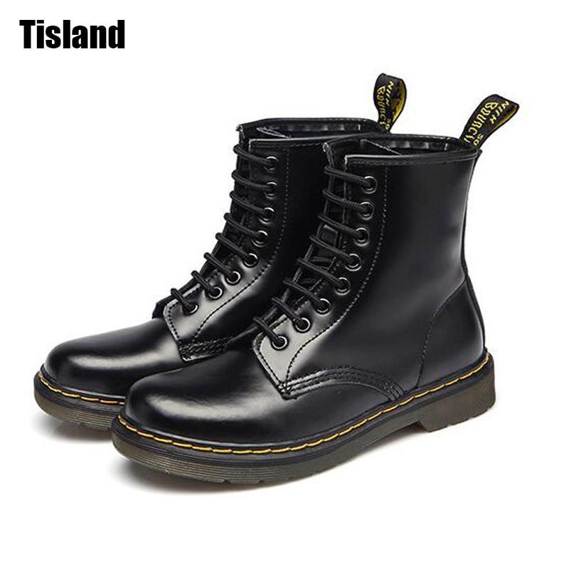 chaussures de mode nouvelles dames bottes locomotive britannique Martin chaussures bottes imperméables,marron,35