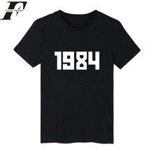Summer harajuku High quality 1984 t-shirt Flag Asap Rocky Skateboards Cotton Short Sleeve T shirt men/women clothing tee