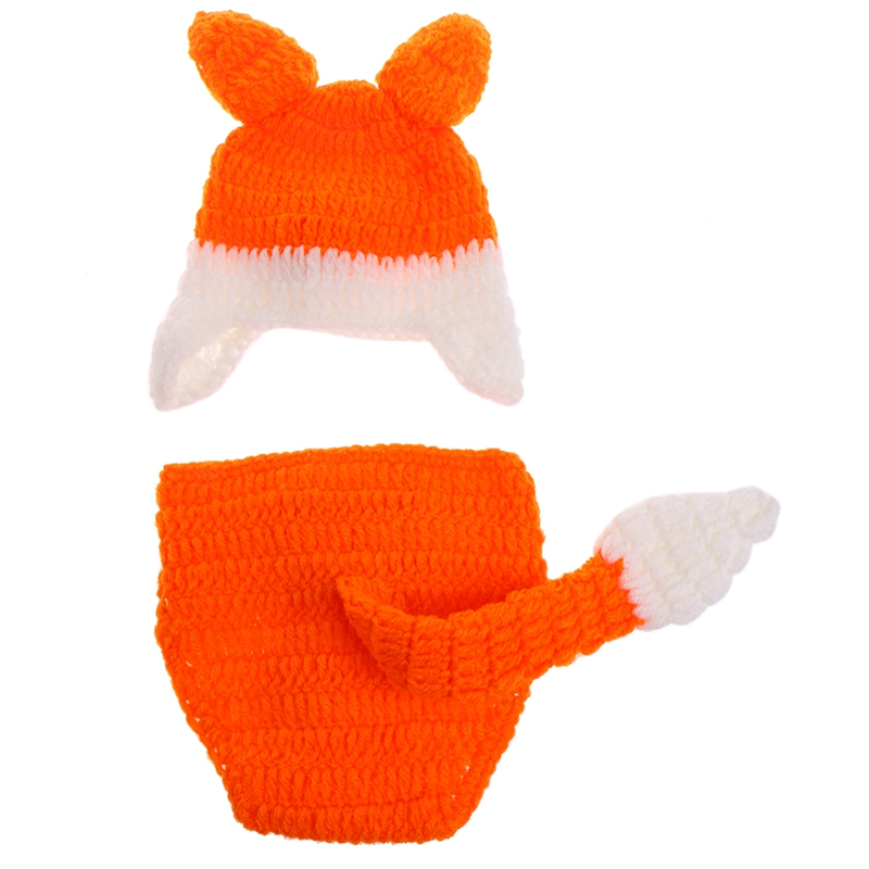Neugeborenen Fotografie Requisiten Babymütze Hosen Kostüm Hand