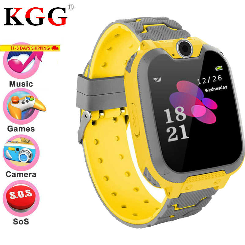 KG10 Kids Smart Watch Game Music Smartwatch Waterproof Children Smart Watch SOS Baby Watch Play Game Music Watch For Boys Girls