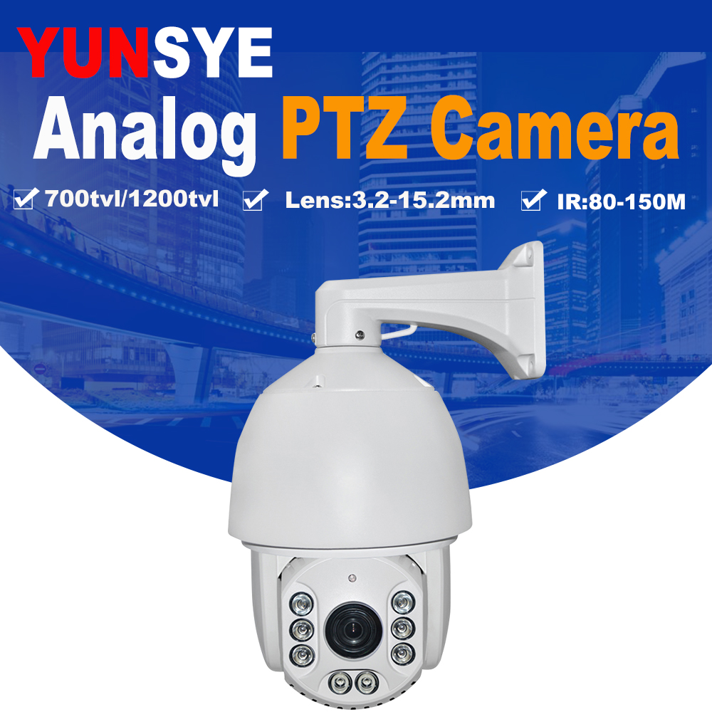 Free shipping Speed Dome 1/3``SONY CCD 700TVL/1200TVL 36X optical zoom IR distance 150m IR PTZ 1200TVL high speed dome auto tracking ptz camera 7 inch ir speed dome camera ccd 700tvl 36x optical zoom ir 150m osd menu outdoor ptz camera