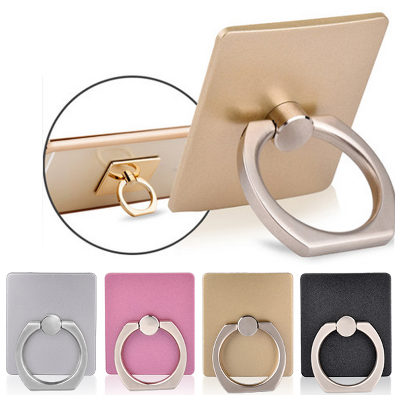 360 Degree Finger Ring Mobile Phone Smartphone Stand Holder For iPhone 6 6S 5S For Samsung S7 S7edge all Smart Phone Mount Stent