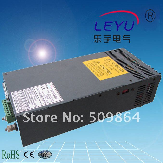 High poweer 600w ac dc 25a single output Parallel function switching power supply CE RoHS ce rohs high power scn 1500 24v ac dc single output switching power supply with parallel function