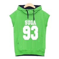 Bangtan Boys Hit Song Should Aid Service Bts Hooded Sweater Short Sleeved T Shirt Female Summer