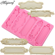 DIY Sugarcraft Cake Border Decorating Frame Silicone Molds Fondant Candy Fimo Clay Chocolate Gumpaste Mold Kitchen Baking Mould