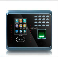 Facial Fingerprint Employee Time Attendance  ZK UF100 TCP/IP Face Time Attendance System With Free Software
