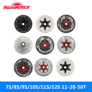 Sunrace Flywheels Mountain-Bike 11-28T/11-50T Silver Black of 11S/12S Full-Range Brand-New