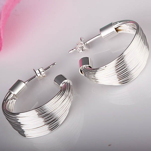 Huge savings this christmas 925 sterling silver stud earrings e5