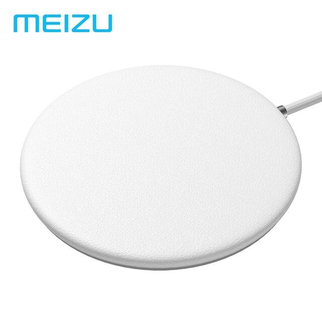 Оригинал Meizu WP01 Qi Беспроводной Зарядное устройство 10 W/7,5 W/5 W быстрой зарядки площадку для поп samsung S8 S9 + S6 IPhone X 8 плюс Xiaomi Mix 2 s