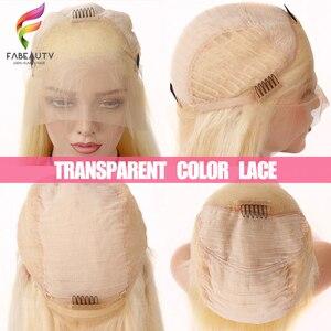 Image 5 - Glueless #613 Blonde Spitze Front Menschliches Haar Perücken Brasilianische Körper Welle 13*4 Spitze Vorne Perücke Pre Gezupft honig Blonde Remy Spitze Perücken