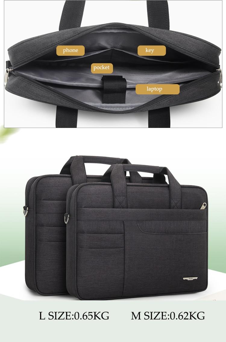 HTB1Tt0bbBWD3KVjSZKPq6yp7FXaY Brand Waterproof Men Women 14 15.6 inch Laptop Briefcase Business Handbag for Men Large Capacity Messenger Shoulder Bag