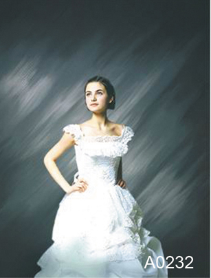 5x7ft (1.5m*2m )Hand painted wedding photography photographic background backdrop ,professional wedding back drops
